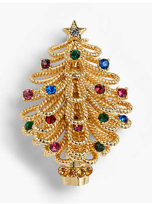 Talbots Holiday Tree Brooch