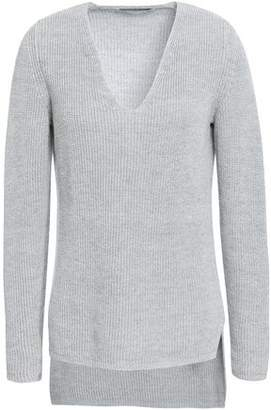 Gentryportofino Metallic Linen-blend Sweater