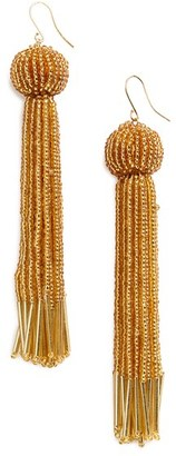 Women's Vanessa Mooney Charlize Tassel Drop Earrings $58 thestylecure.com