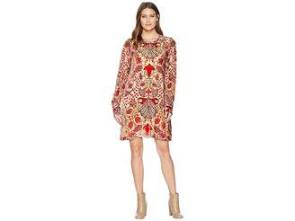 Hale Bob Odile Medallion Burnout Dress