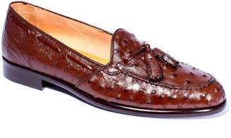 Zelli Classic Exotics Franco Tassel Exotic Leather Loafer