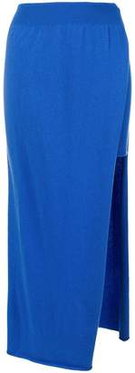 Jacquemus asymmetrical layer skirt