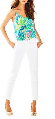 Lilly Pulitzer South Ocean Crop Jean