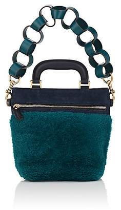 Anya Hindmarch WOMEN'S ORSETT MINI SHEARLING & SUEDE SHOULDER BAG