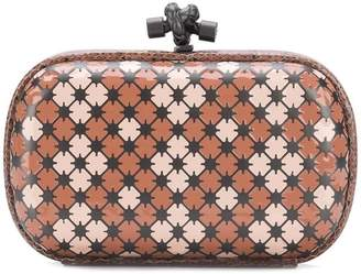 Bottega Veneta enamel knot clutch bag