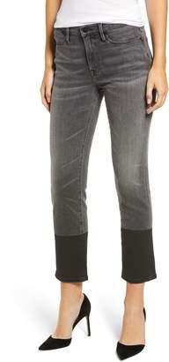 Frame Le High Crop Straight Leg Jeans