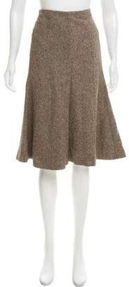 Robert Rodriguez Knit A-Line Skirt