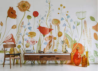Lulu & Georgia Anewall Wildflower Wallpaper Mural