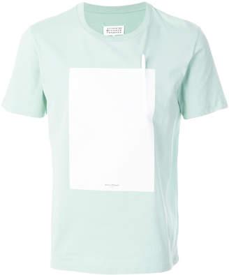Maison Margiela removable-pen patch T-shirt