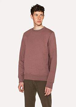 Paul Smith Men's Mauve Organic-Cotton Sweatshirt