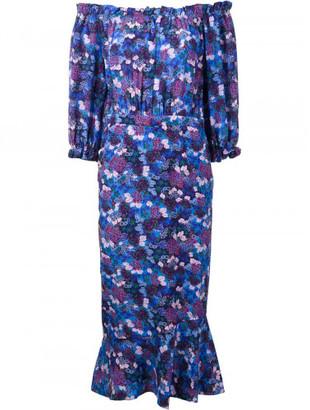Saloni 'Grace' dress $625 thestylecure.com