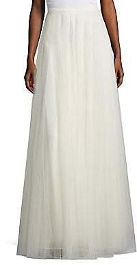 Jenny Yoo Women's Winslow Tulle Long Skirt