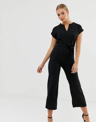 boohoo Tailored Wide Leg Jumpsuit