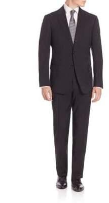 Armani Collezioni Classic Solid Suit