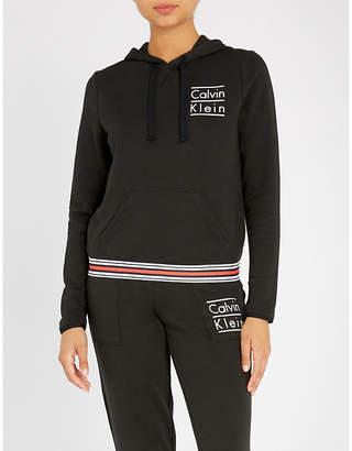 Calvin Klein Modern Cotton cotton-jersey hoody