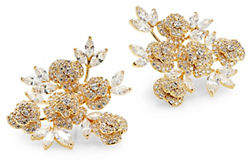 Kate Spade That Special Sparkle Crystal Cluster Stud Earrings
