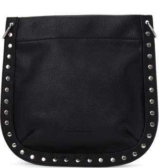 French Connection Black Fina Studded Crossbody