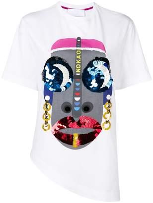 NO KA 'OI No Ka' Oi sequin embellished T-shirt