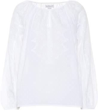 Velvet Victoria cotton shirt