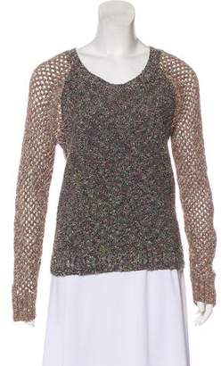 Rag & Bone Long Sleeve Tweed Sweater