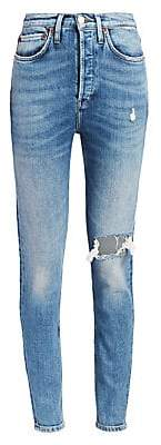 RE/DONE Women's Comfort Stretch Ultra High-Rise Skinny Jeans
