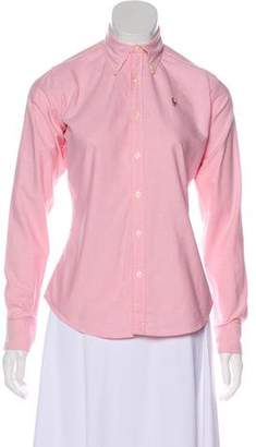 Ralph Lauren Button-Up Top