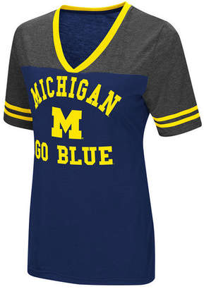 Colosseum Women Michigan Wolverines Whole Package T-Shirt