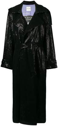 Each X Other sequin trench coat