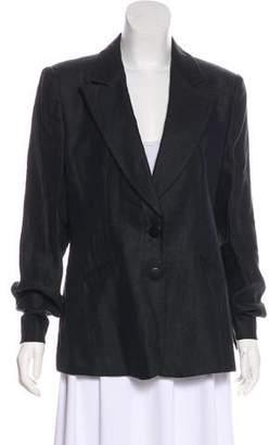 Armani Collezioni Structured Linen Blazer