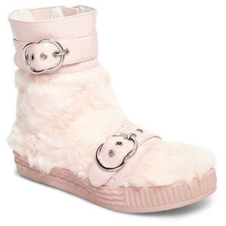 Jeffrey Campbell Vivant Faux Fur Sneaker Boot (Women)