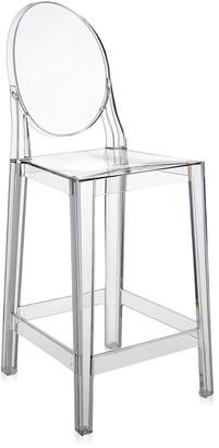 Kartell One More Stool - Crystal - 65cm