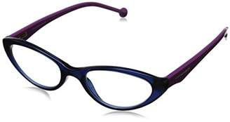 Jonathan Adler Women's JA801NAV15 Oval Reading Glass
