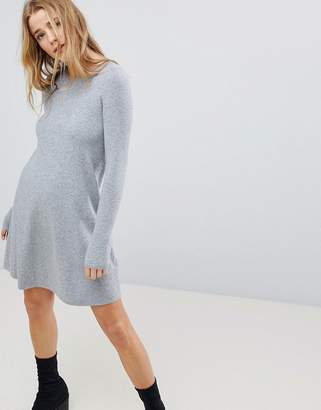 Bershka Knitted Sweater Dress