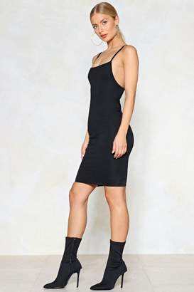 Nasty Gal Back to Square One Midi Dress