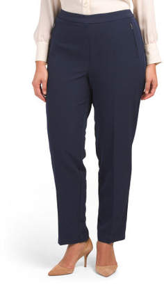 Plus Wrinkle Resistant Bond Slim Pants