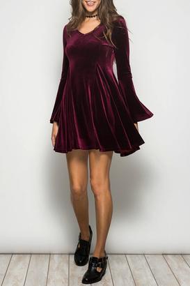 Ya Los Angeles Velvet Party Dress $56 thestylecure.com