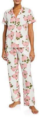 BedHead Floral Short-Sleeve Classic Pajama Set