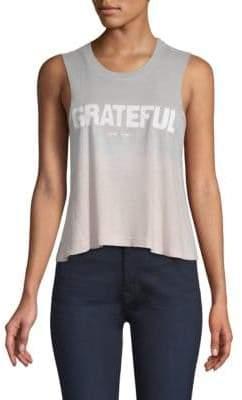Spiritual Gangster Grateful Ombre Tank Top