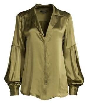 Nanette Lepore Sonnet Silk Blouse