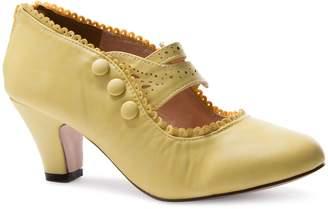 Chase & Chloe V-Luxury Womens 36-Mina4 Closed Toe Mary Jane High Heel Shoes