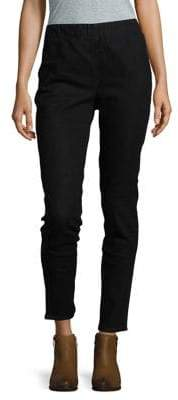 Joan Vass Striaght-Leg Pants
