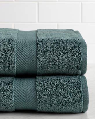 Superior Zero Twist Set Of Two Bath Sheets