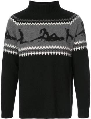 The Elder Statesman The Fairest Isle sweater