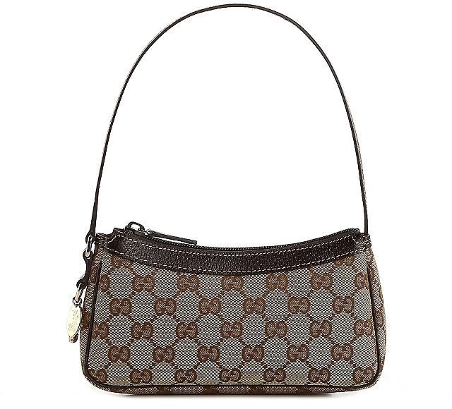 Gucci Signature Emblem Mini Shoulder Bag