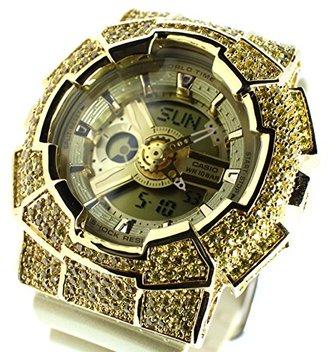 G-Shock (ジーショック) - G-SHOCK(ジーショック) Baby-G BA-111-9AJF CZダイヤモンド カスタムカバーモデル(カスタムベゼル+本体セット)