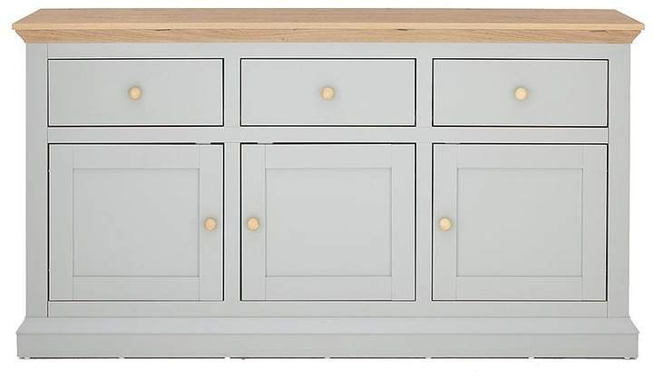 Hannah Large Sideboard - Sage/Oak-Effect
