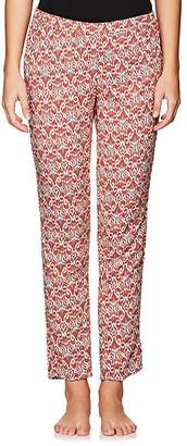 Eberjey WOMEN'S JASPER FOLKLORIC-PRINT PANTS