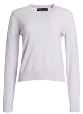 Proenza Schouler Cashmere& Silk Blend Crewneck Sweater