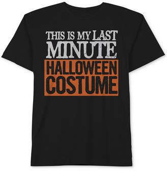 Hybrid Men's Halloween Graphic-Print T-Shirt