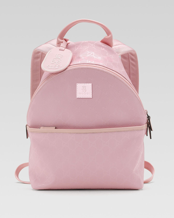 Gucci GG Plus Fabric Backpack